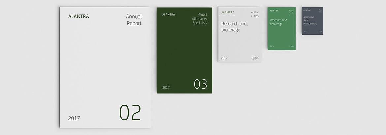 Alantra Editorial Design