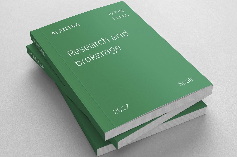Diseño del Anual Report para Alantra
