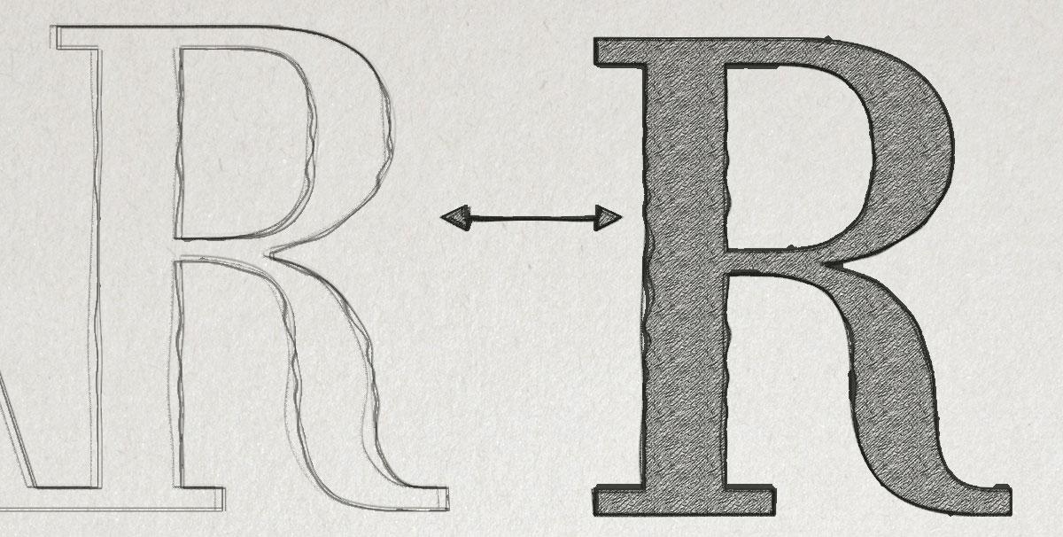 SUAREZ letra R