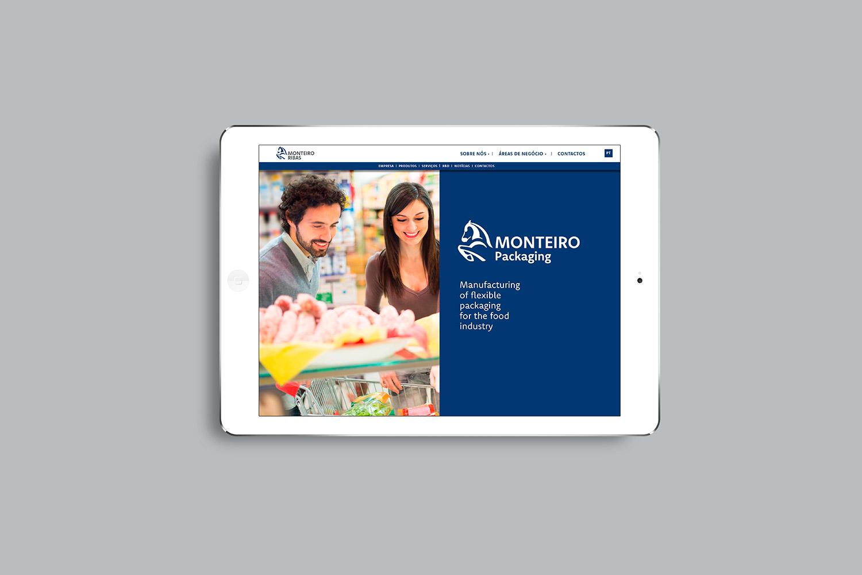 Web monteiro en iPad